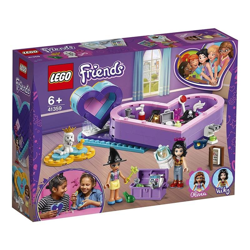 LEGO - Friends 41359 Balenie srdiečkových boxov priateľstva