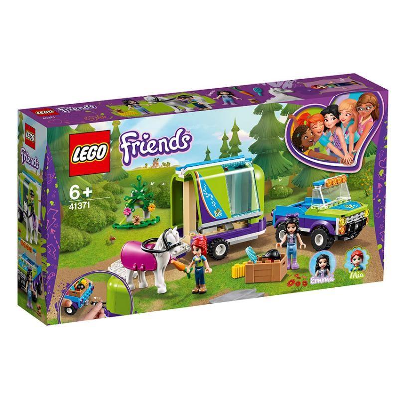 LEGO - Friends 41371 Mia a jej príves pre kone