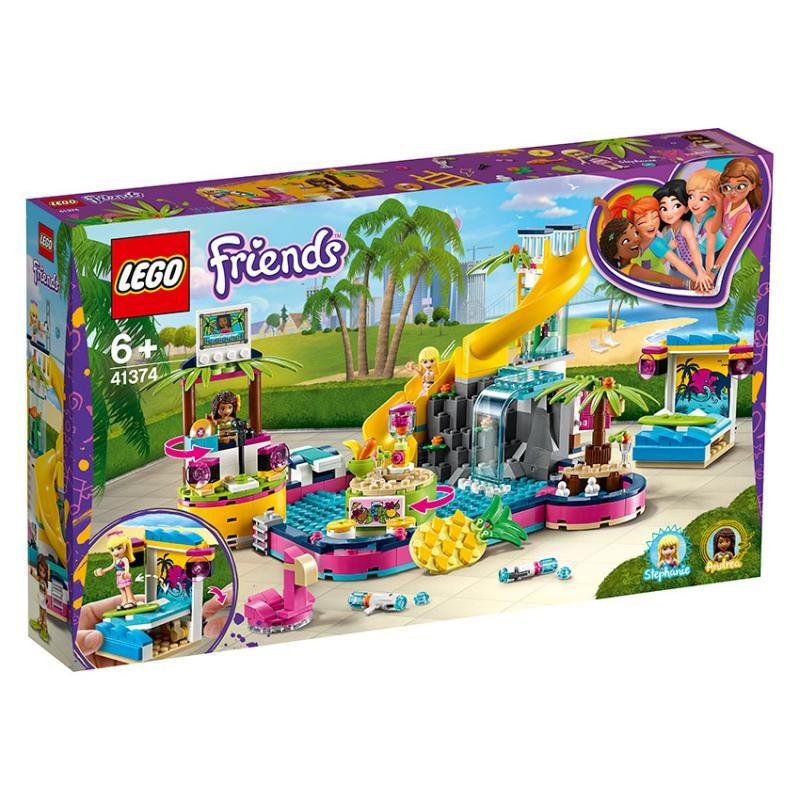 LEGO - Friends 41374 Andrea a jej párty pri bazéne