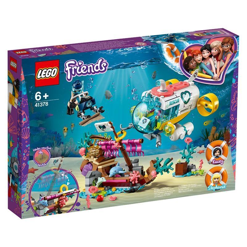 LEGO - Friends 41378 Misia na záchranu delfínov