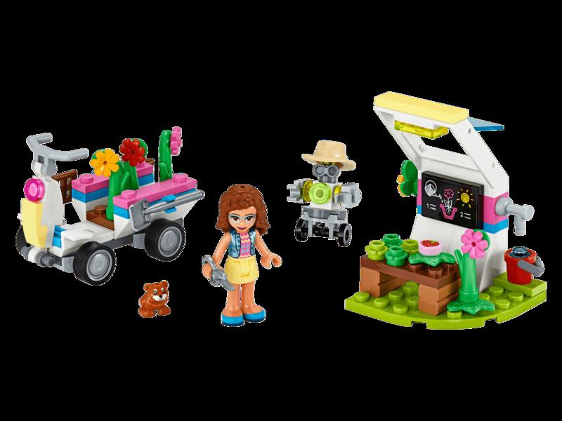 LEGO - Friends 41425 Olivia a jej kvetinová záhrada