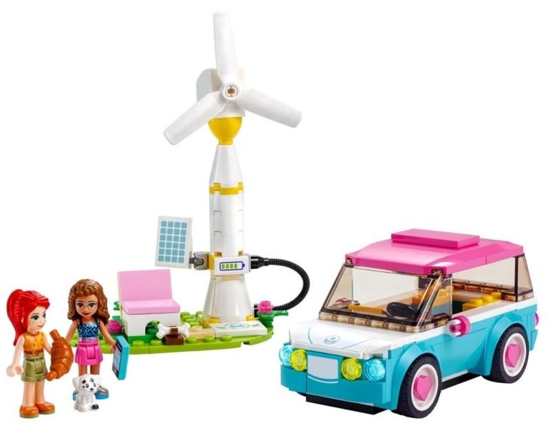 LEGO - Friends 41443 Olivia a jej elektromobil