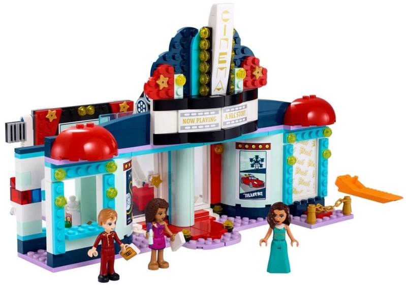 LEGO - Friends 41448 Kino v mestečku Heartlake