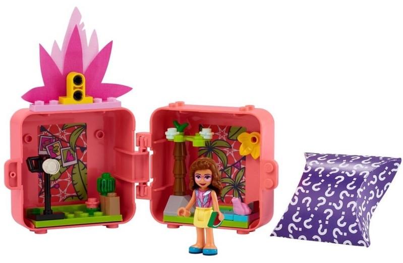 LEGO - Friends 41662 Olivia a jej plameňákový boxík