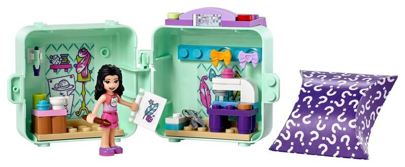 LEGO - Friends 41668 Ema a jej módny boxík