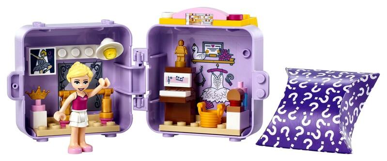 LEGO - Friends 41670 Stephanie baletný boxík