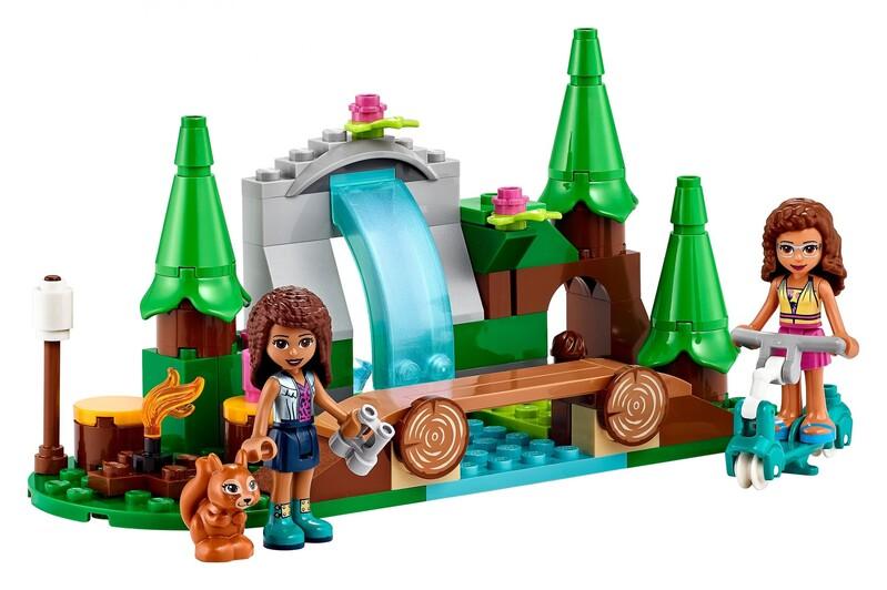 LEGO - Friends 41677 Vodopád v lese