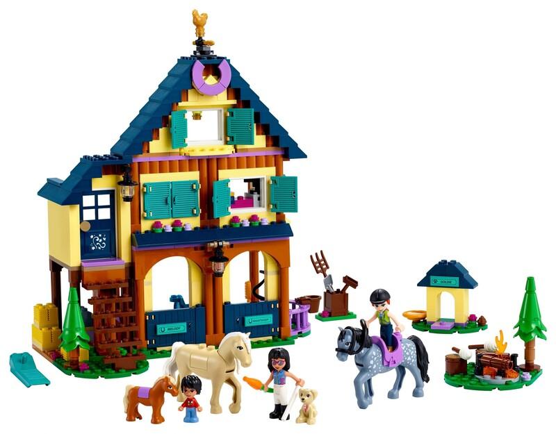 LEGO - Friends 41683 Lesné jazdecké stredisko