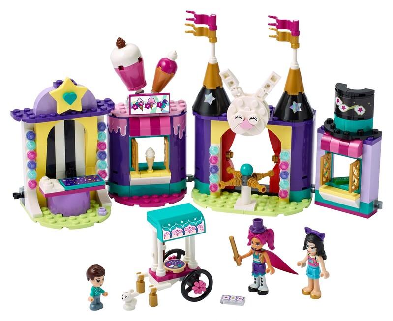 LEGO - Friends 41687 Čarovné stánky v lunaparku