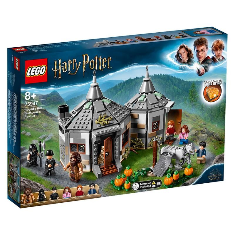 LEGO - Harry Potter™ 75947 Hagridova chatrč: Záchrana Hrdozobca