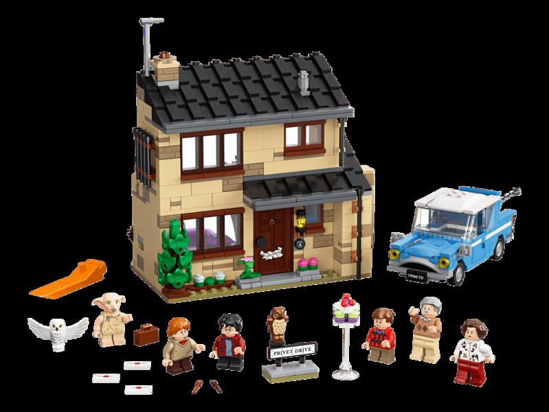LEGO - Harry Potter™ 75968 Privátna cesta 4