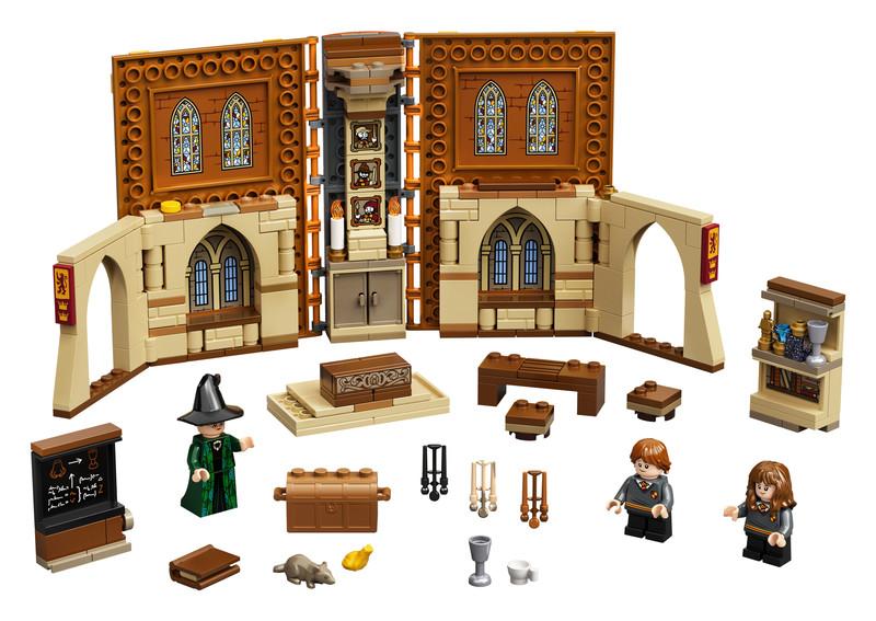 LEGO - Harry Potter 76382 Čarovné momenty z Rokfortu: Hodina transfigurácie