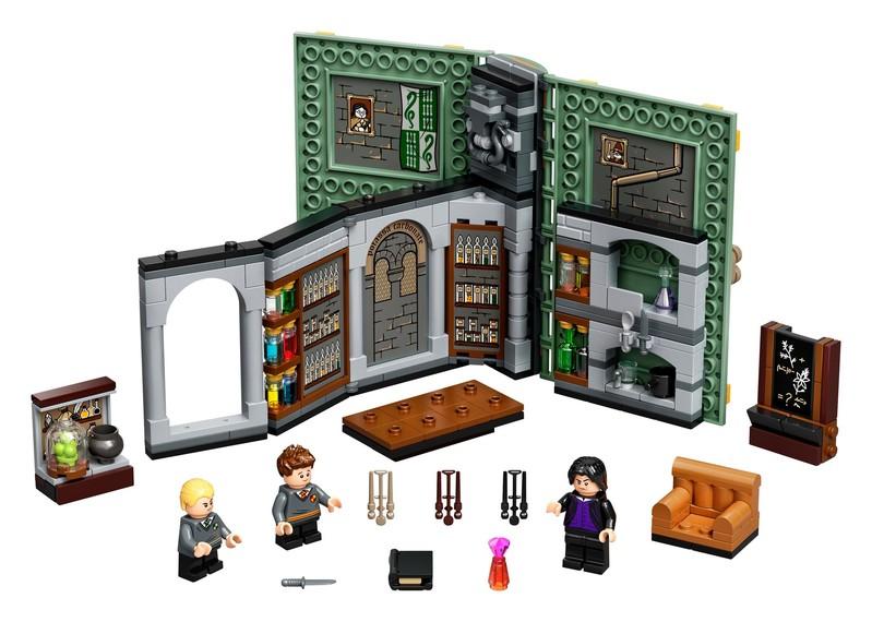 LEGO - Harry Potter 76383 Čarovné momenty z Rokfortu: Hodina elixírov