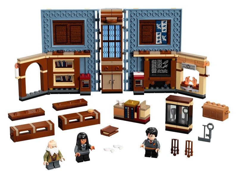 LEGO - Harry Potter 76385 Čarovné momenty z Rokfortu: Hodina čarovania