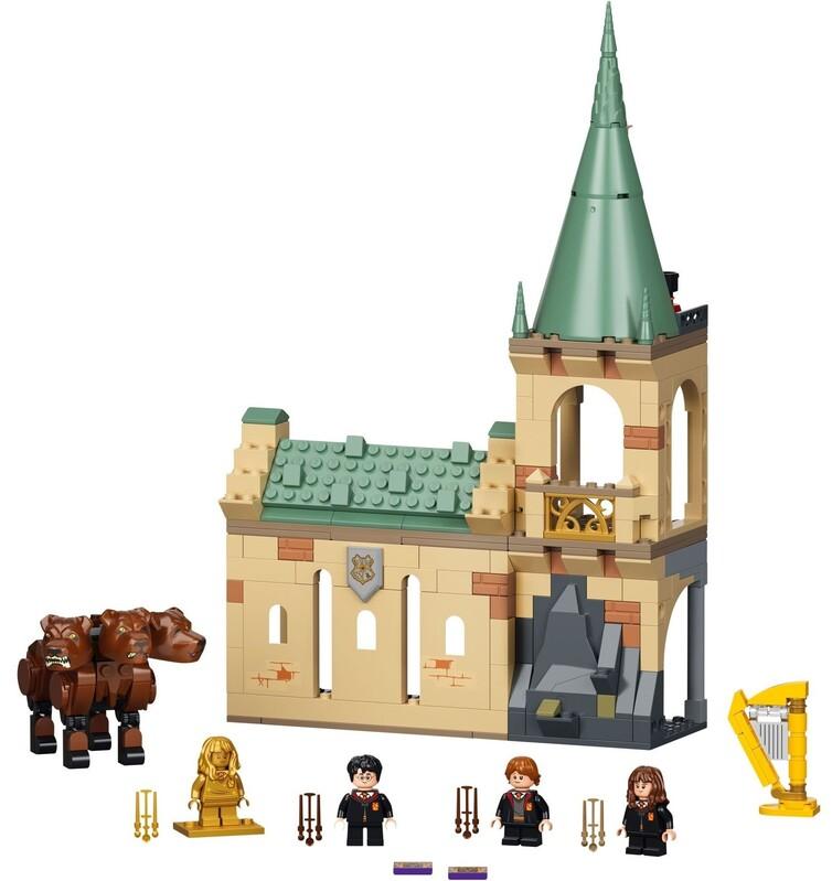 LEGO - Harry Potter™ 76387 Rokfort: stretnutie s Chlpáčikom