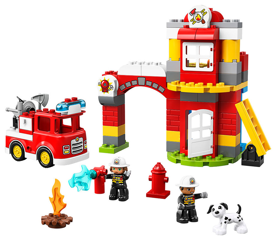 LEGO - Hasičská Stanica