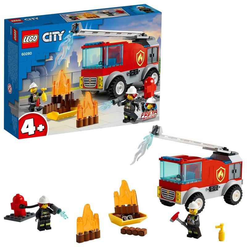 LEGO - Hasičské auto s rebríkom
