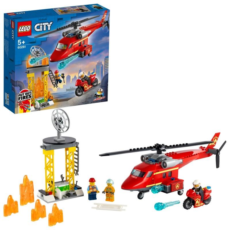 LEGO - Hasičský záchranný vrtuľník