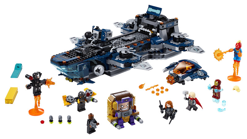 LEGO - Helicarrier Avengerov