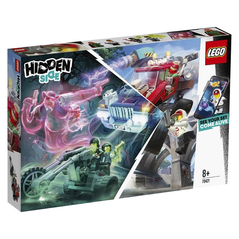 LEGO - Hidden Side 70421 El Fuegov nákladiak