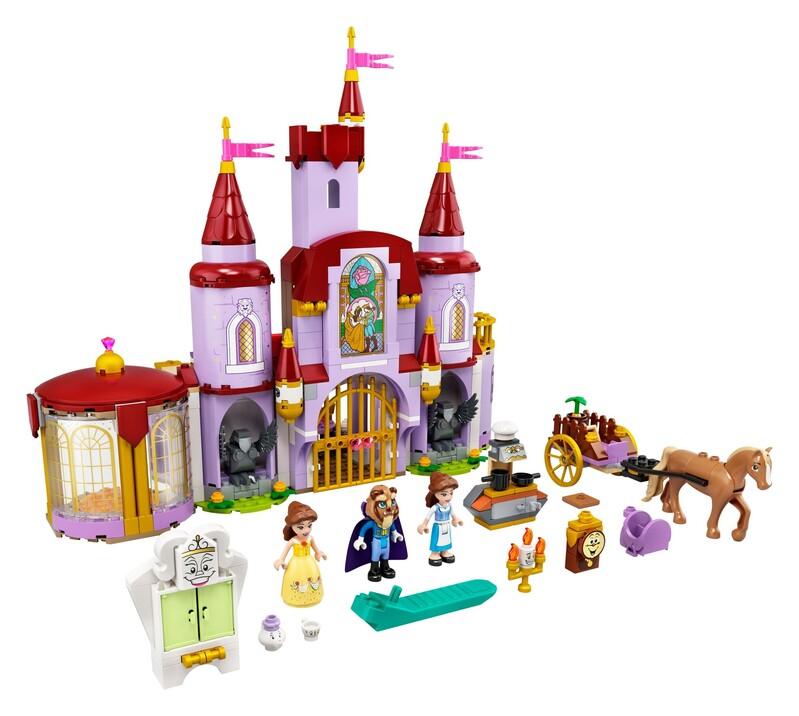 LEGO - I Disney Princess™ 43196 Zámok Krásky a zvieraťa