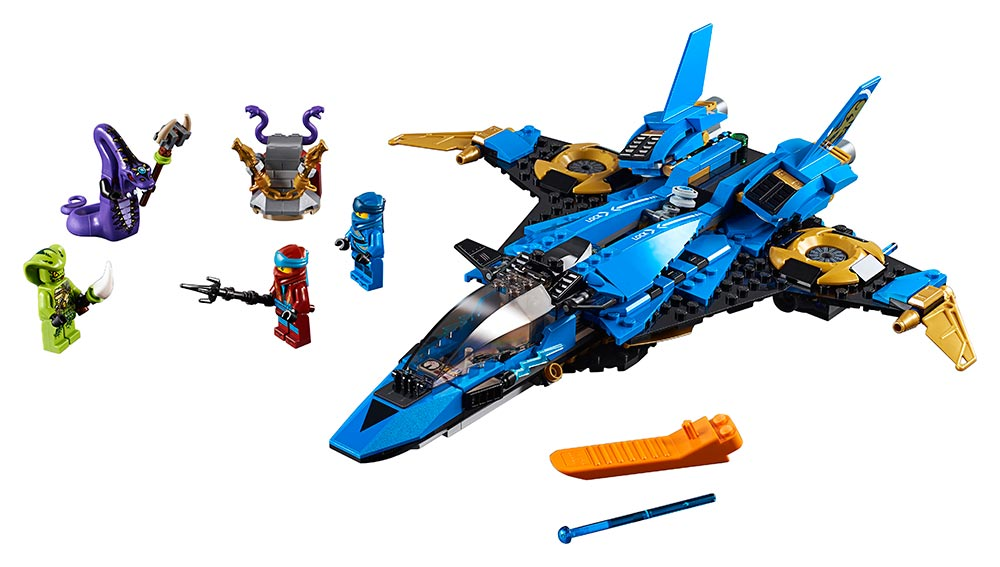 LEGO - Jayov Búrkový Letún