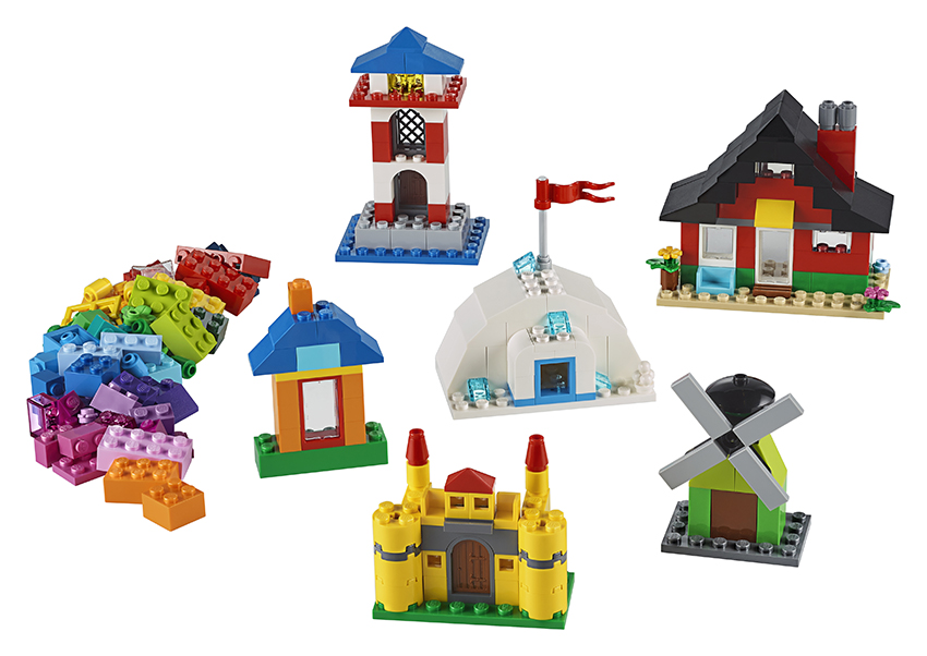 LEGO - Kocky A Domčeky