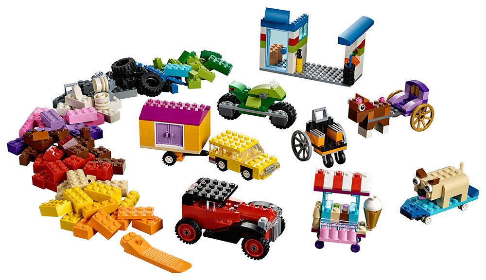 LEGO - Kocky Na Kolieskach