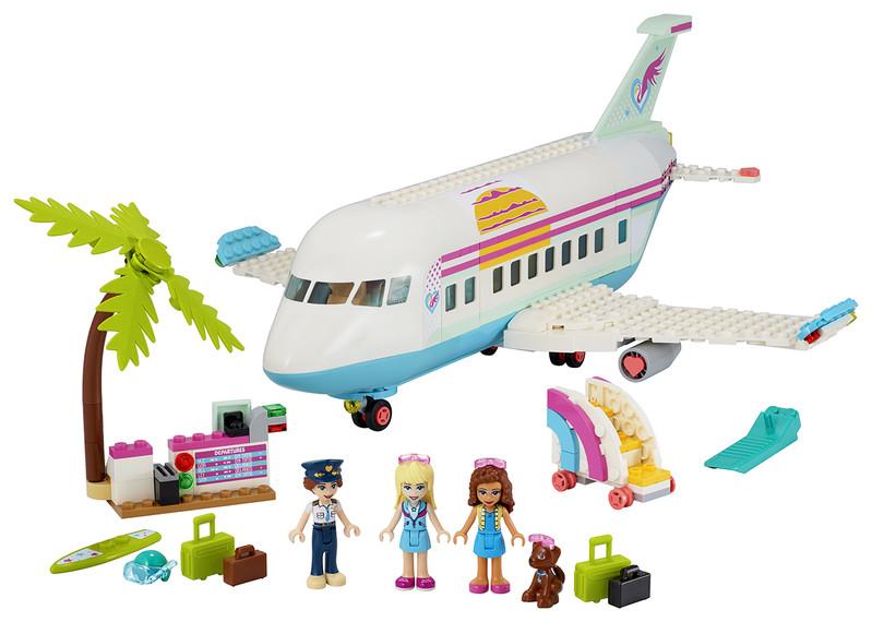 LEGO - Lietadlo z mestečka Heartlake