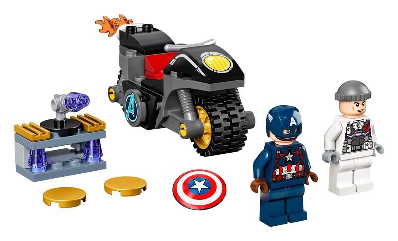 LEGO - Marvel Avengers 76189 Captain America vs. Hydra