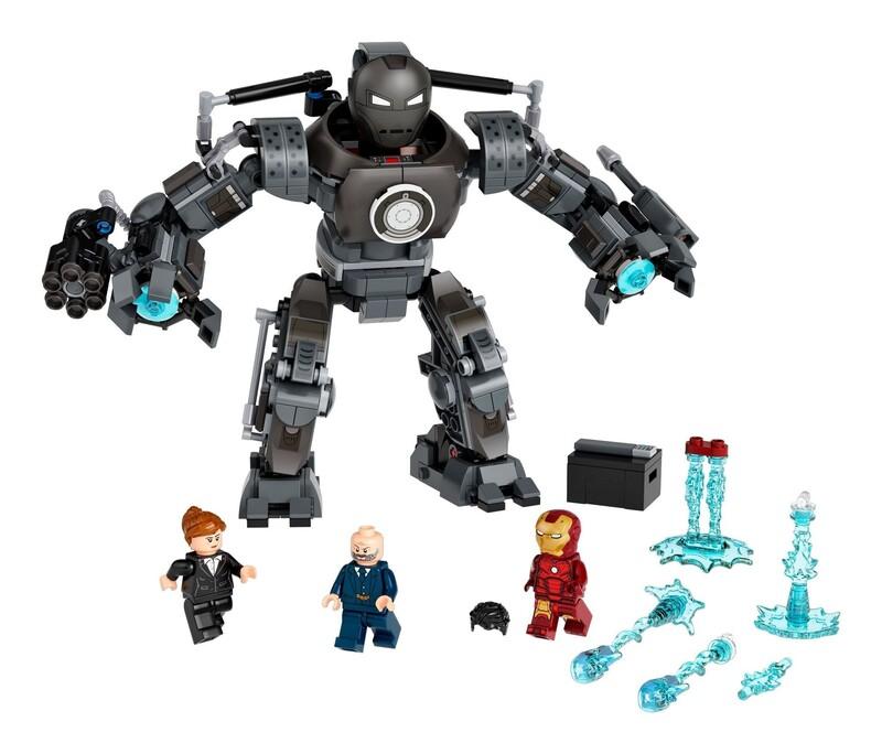 LEGO - Marvel Avengers 76190 Iron Man: Masaker Iron Mongera