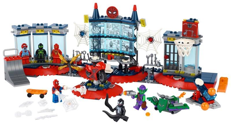 LEGO - Marvel Super Heroes 76175 Útok na pavúčí brloh