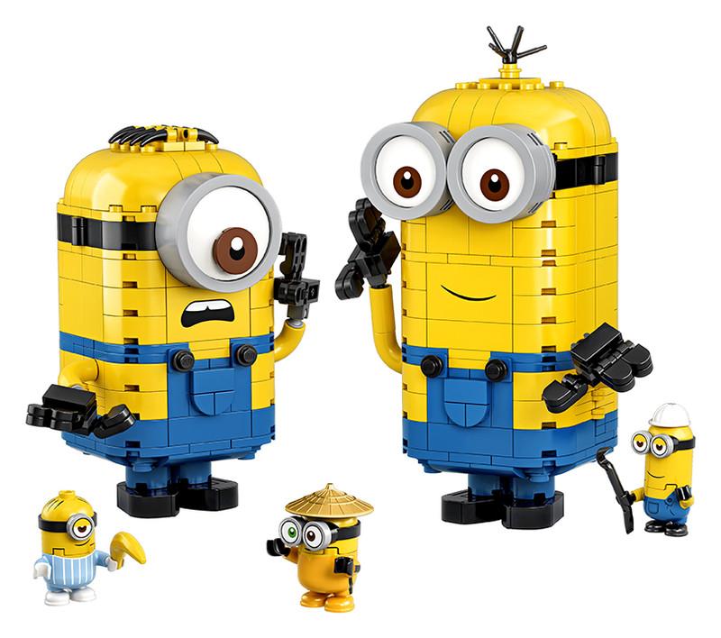 LEGO - Mimoni a ich brloh
