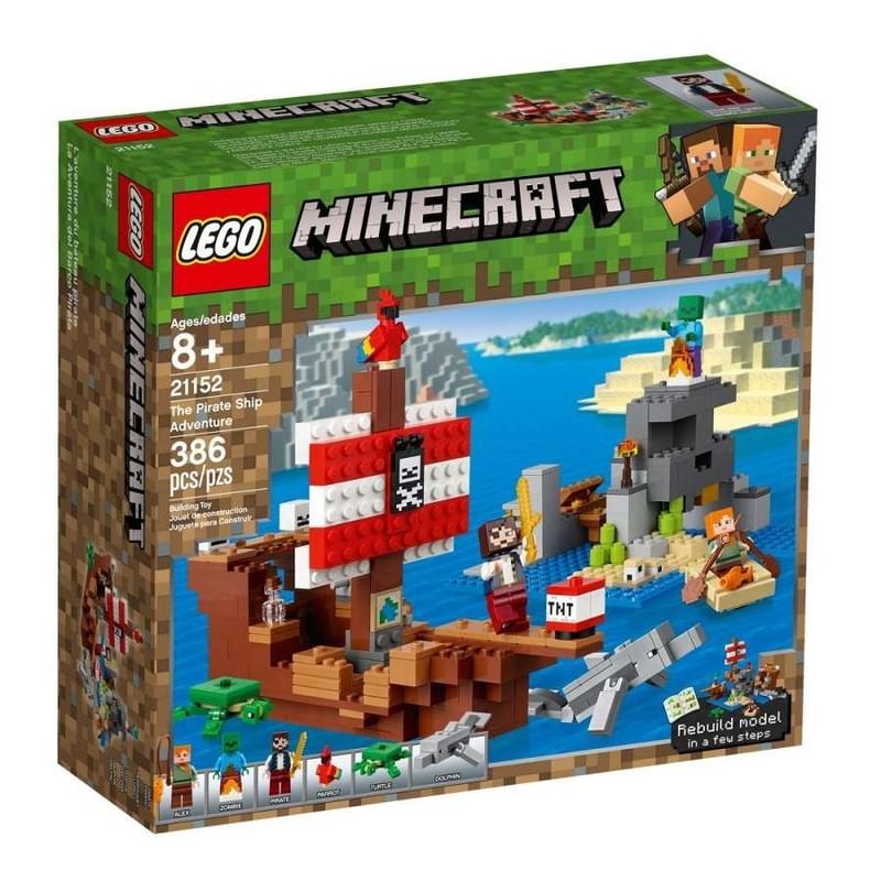 LEGO - Minecraft 21152 Dobrodružstvo na pirátskej lodi
