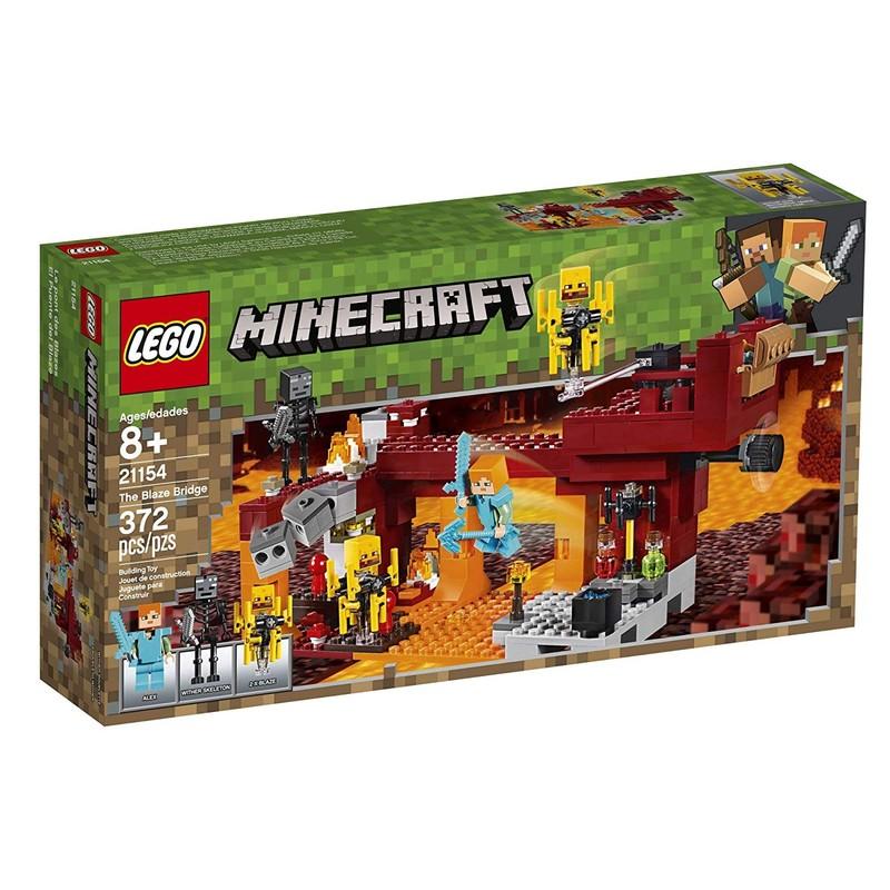 LEGO - Minecraft 21154 Most ohnivákov