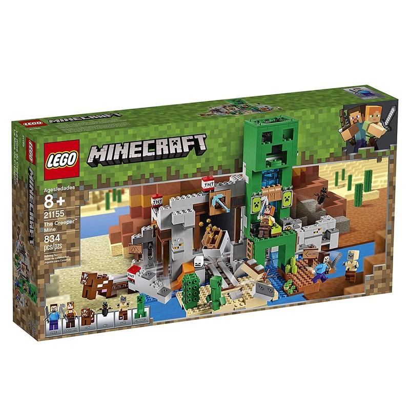 LEGO - Minecraft 21155 Baňa Creeperov