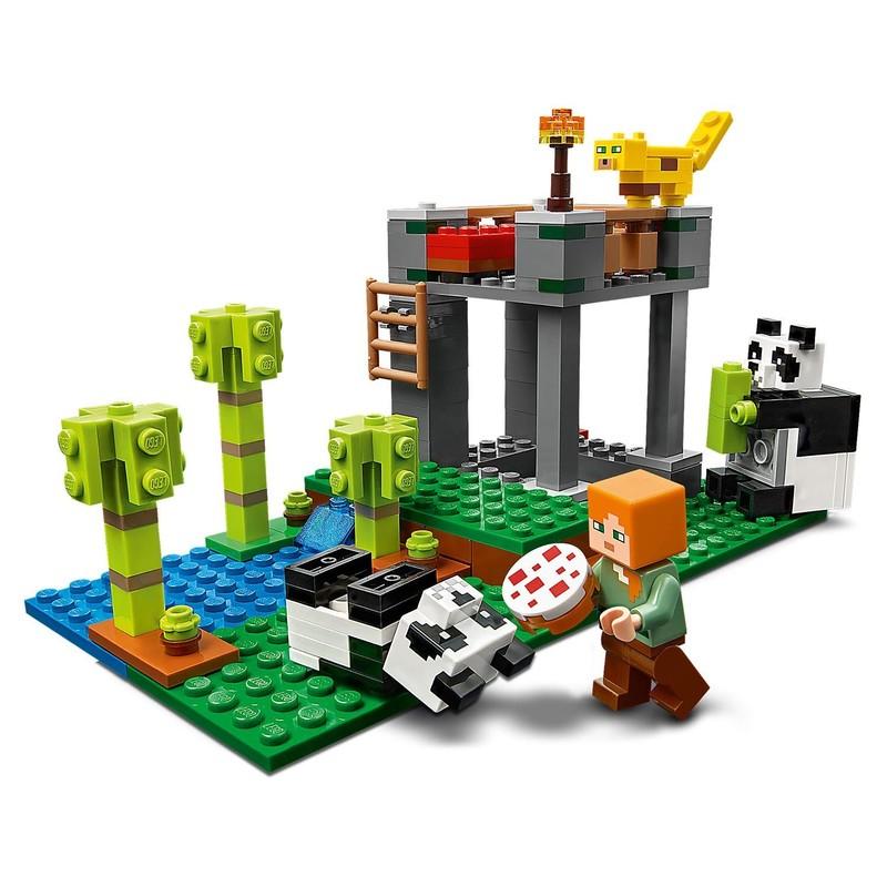 LEGO - Minecraft 21158 Škôlka pre pandy