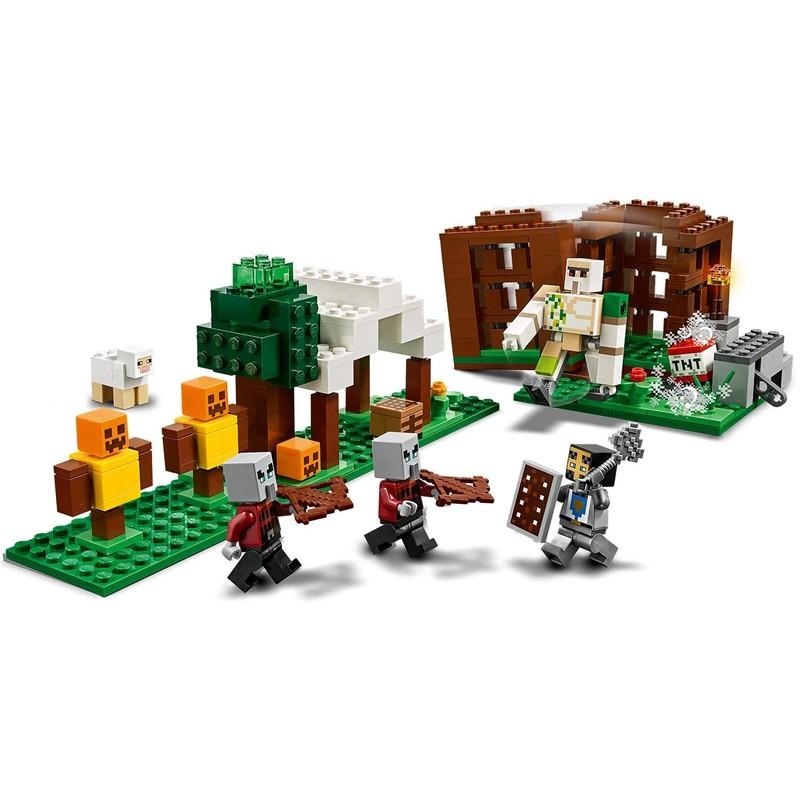 LEGO - Minecraft 21159 Základňa Pillagerov