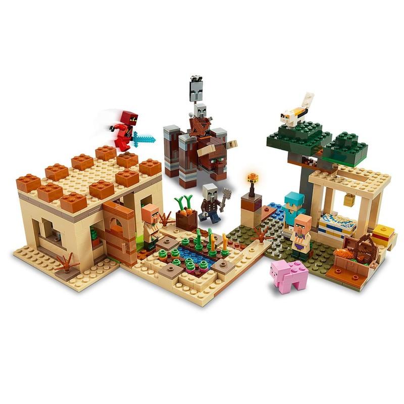 LEGO - Minecraft 21160 Útok Illagerov