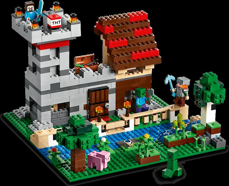 LEGO - Minecraft 21161 Kreatívny box 3.0