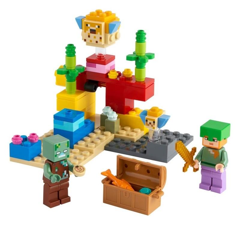 LEGO - Minecraft 21164 Korálový útes