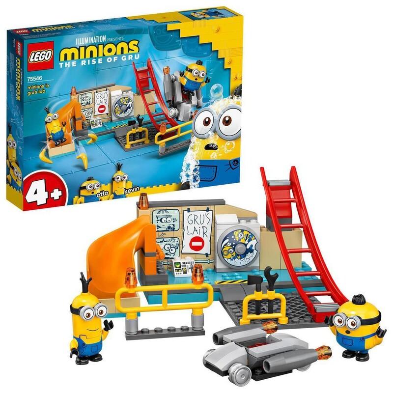 LEGO - Minions 75546 Mimoni v Gruovom laboratóriu