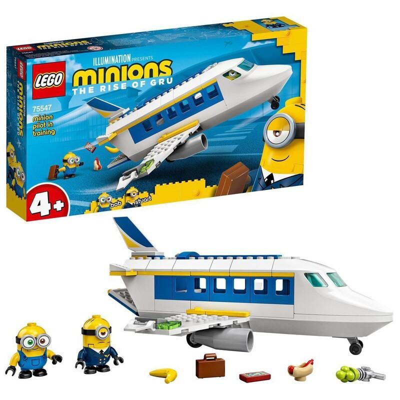 LEGO - Minions 75547 Mimoňský pilot v zácviku