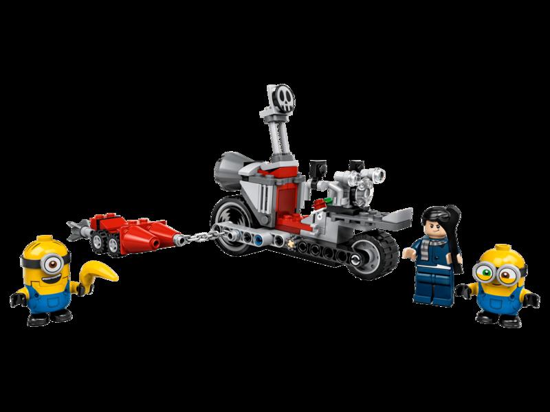 LEGO - Minions 75549 Divoká naháňačka na motorke