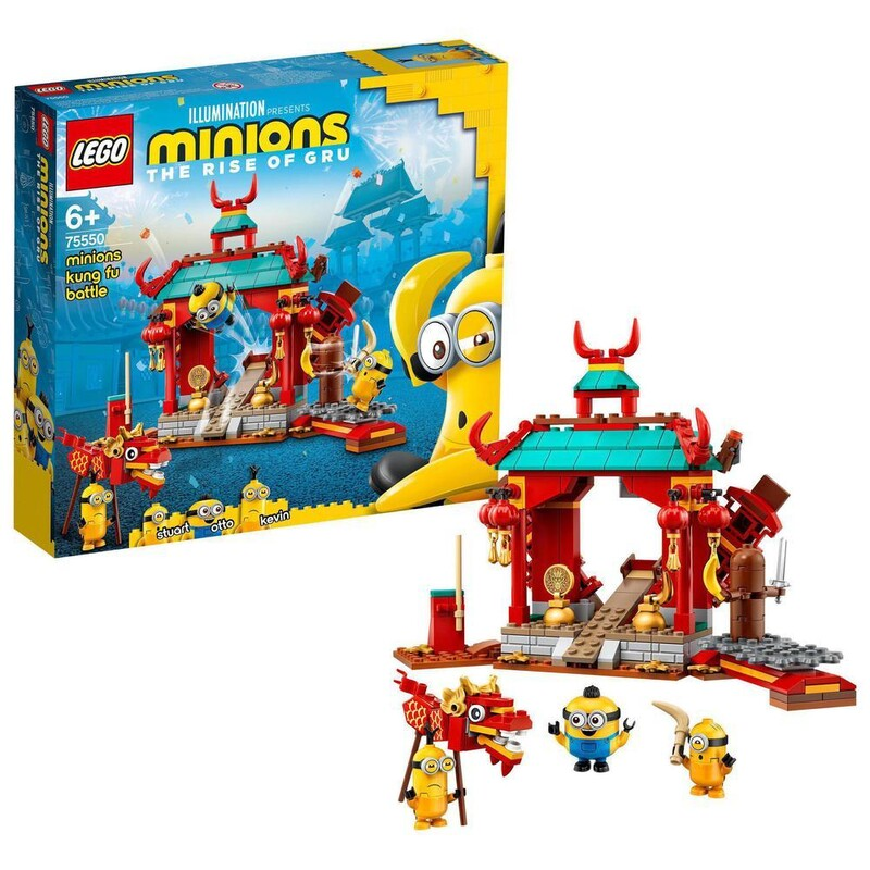 LEGO - Minions 75550 Mimoňský kung-fu súboj