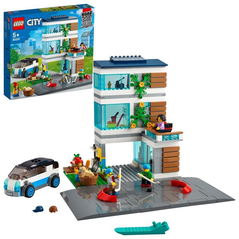 LEGO - Moderný rodinný dom