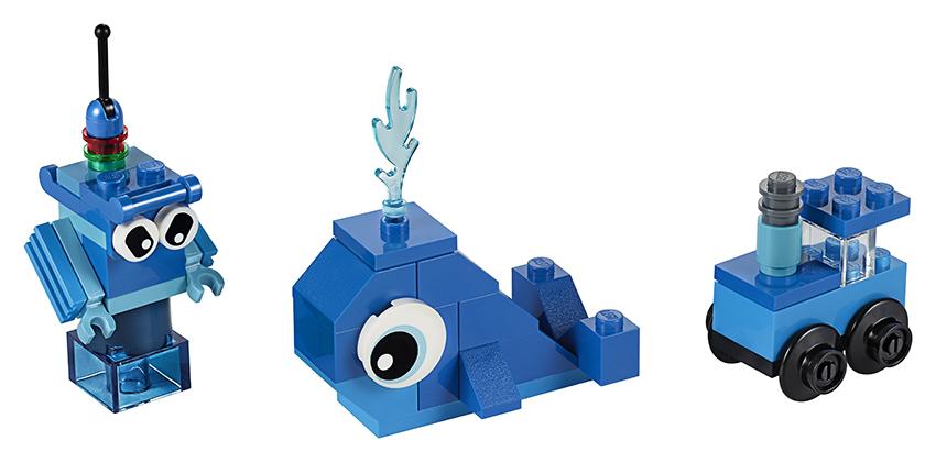 LEGO - Modré Kreatívne Kocky