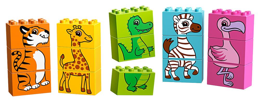 LEGO - Moja Prvé Zábavné Puzzle