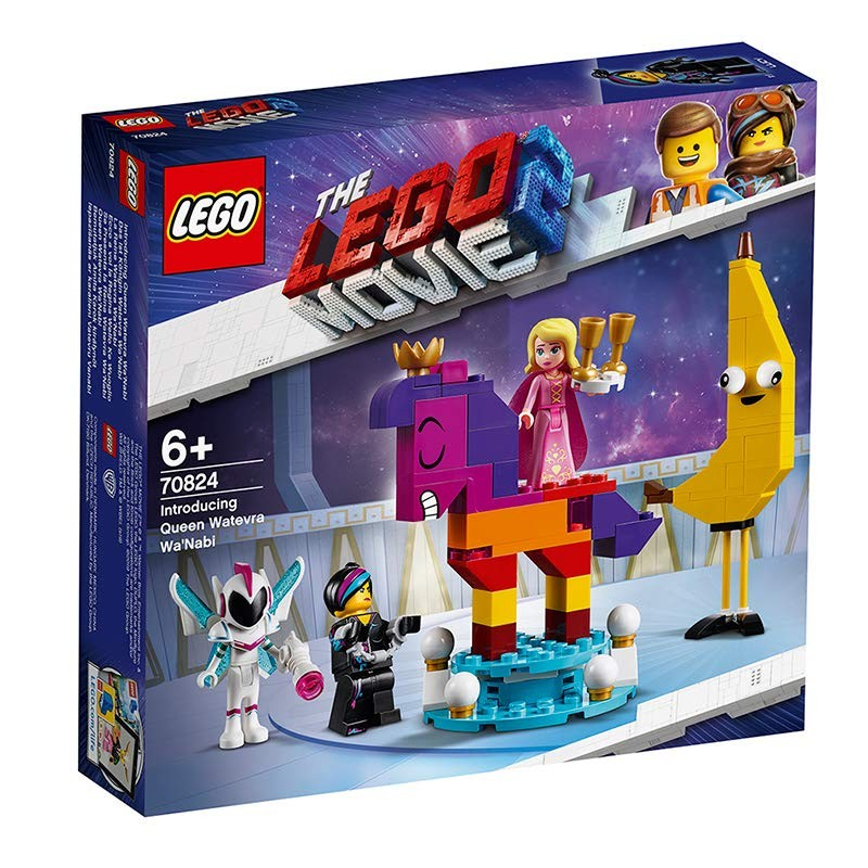 LEGO - Movie 2 70824 Predstavujeme kráľovnú Watevru Wanabi
