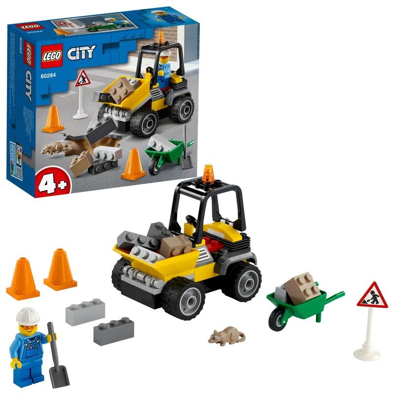 LEGO - Nákladiak cestárov